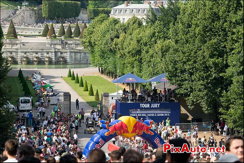 course Caisses a Savon Red Bull, Saint-Cloud