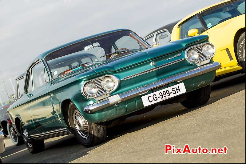 coupe Chevrolet Corvair, parkings Automedon