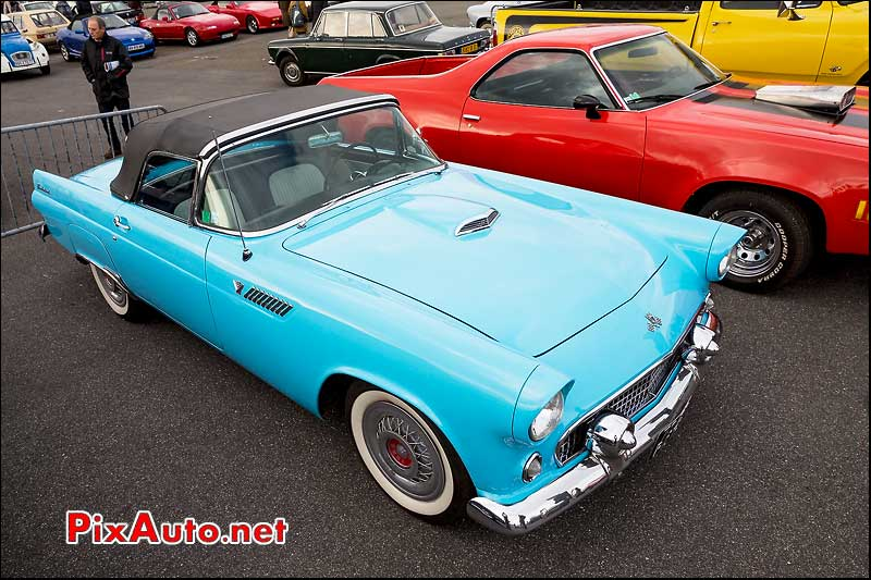 Ford Thunderbird cabriolet, parkings Automedon