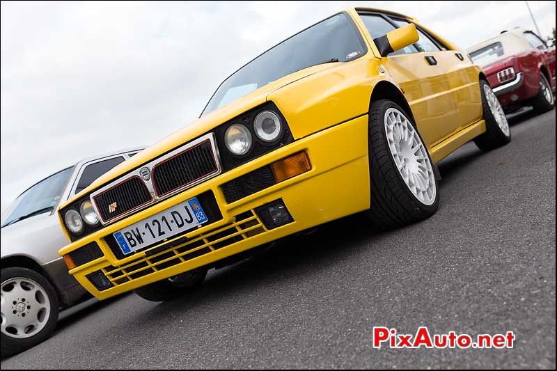 Lancia Delta HF, Parkings Salon Automedon