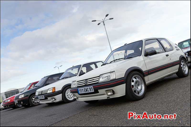 Peugeot 205 GTI, Parkings Salon Automedon