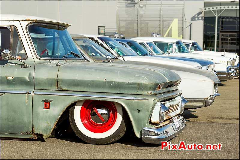 Pick-up Chevrolet C10, parkings Automedon