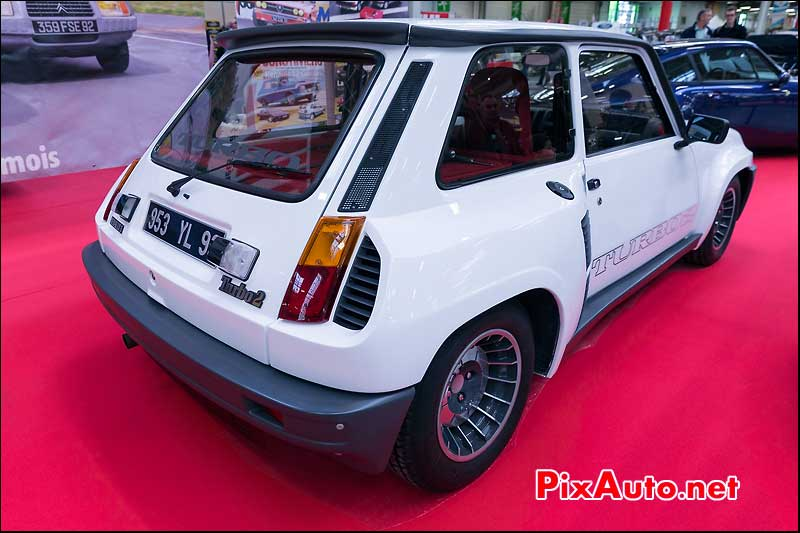 Renault 5 Turbo 2, stand Youngtimers Salon Automedon