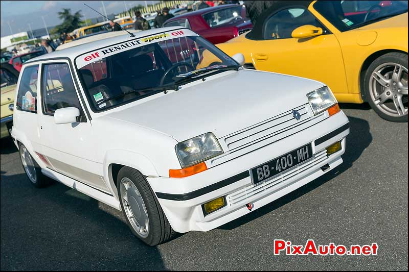 Renault Super 5 GT Turbo, Parkings Salon Automedon