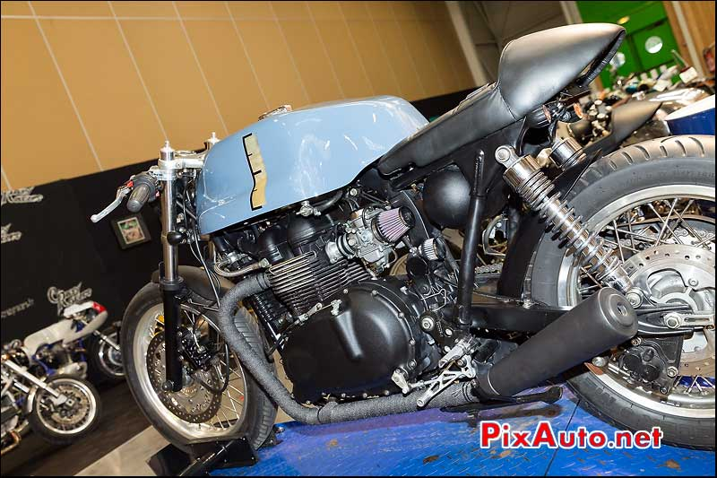 Cafe-Racer Triumph Sparks Motorcycles, Garage Iron Bikers Automedon