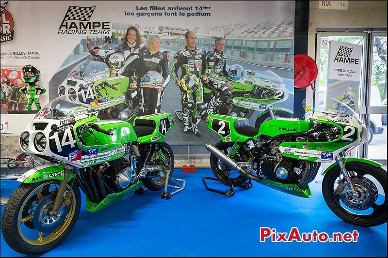 Kawasaki Hampe Racing Team, Salon Moto Legende