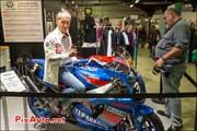 Christian-Sarron Yamaha YZF750R, Salon-Moto-Legende 2013