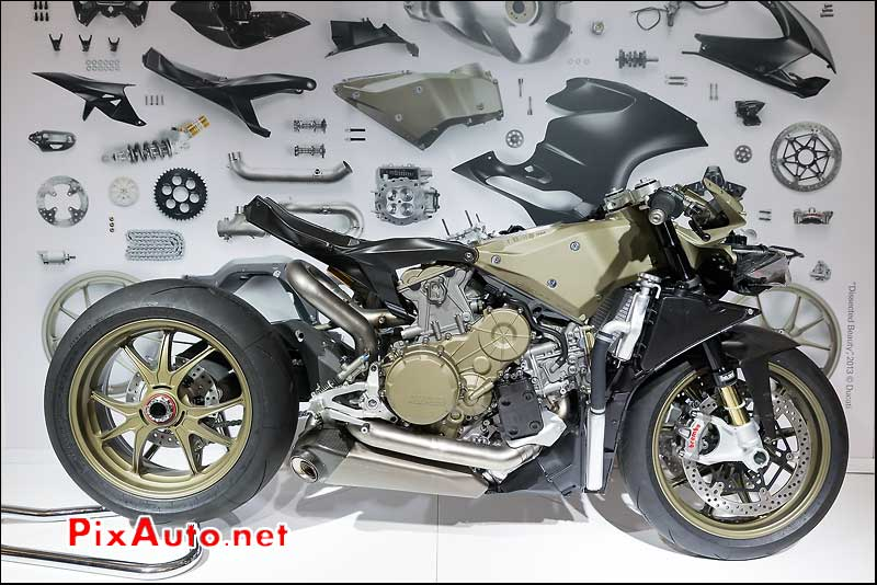 Ducati 1199 Superleggera structure, salon-de-la-moto Paris
