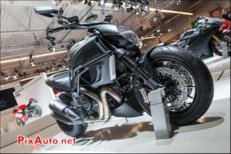 Ducati Diavel Dark, salon-de-la-moto Paris