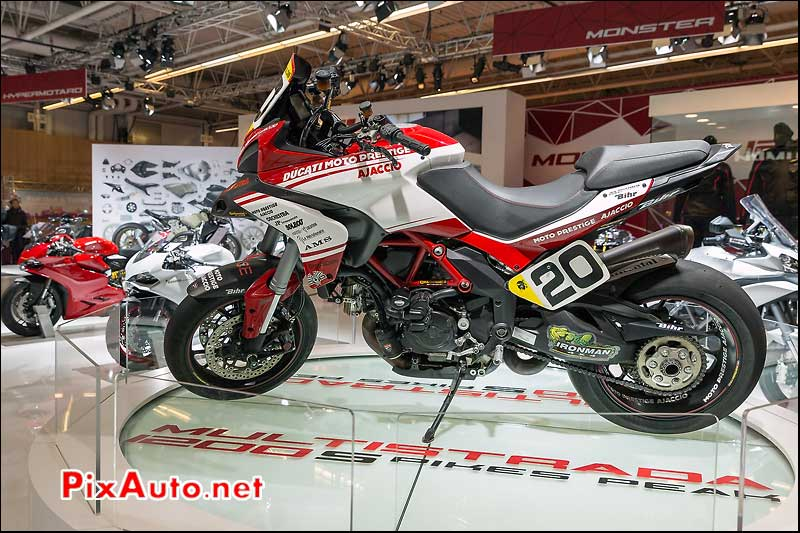 Ducati Multistrada 1200 Spikes-Peak, salon-de-la-moto Paris