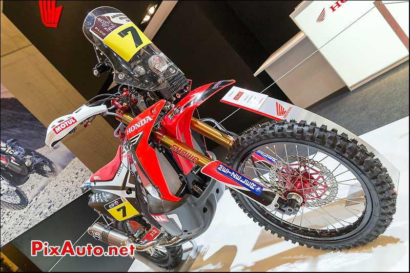 Honda CRF450 Rally de Helder Rodrigues, salon-de-la-moto Paris