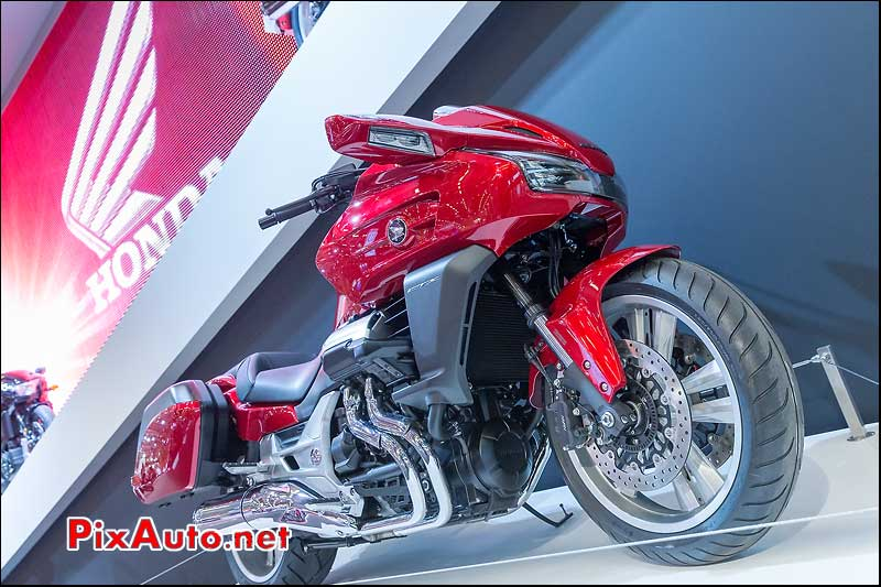 Honda CTX1300 Rouge Candy, Salon-de-la-moto Paris 2013