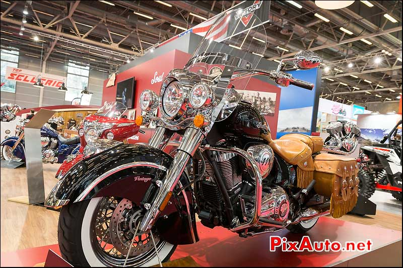Indian Chief Vintage Black, salon-de-la-moto Paris