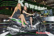 scooter kawasaki salon de la moto scooter quad