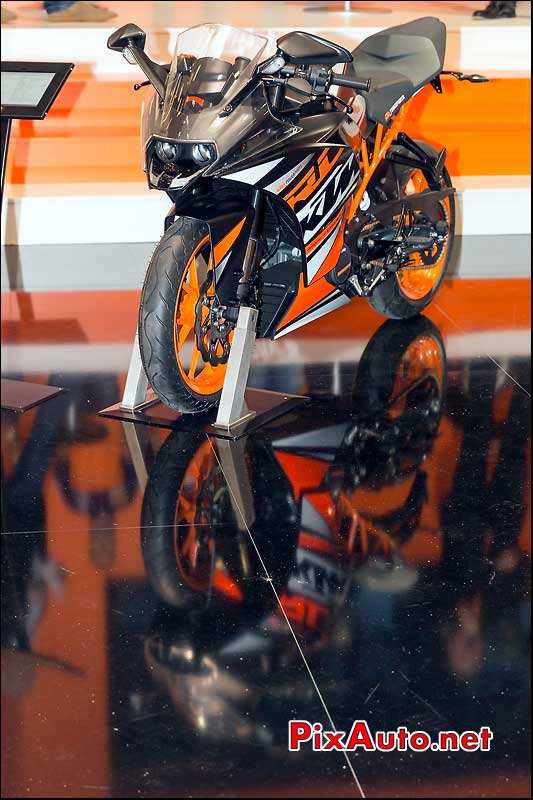 Nouvelle KTM 125-200 RC Duke, salon-de-la-moto Paris