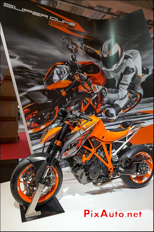 Nouveau KTM 1290 Super Duke R, salon-de-la-moto Paris