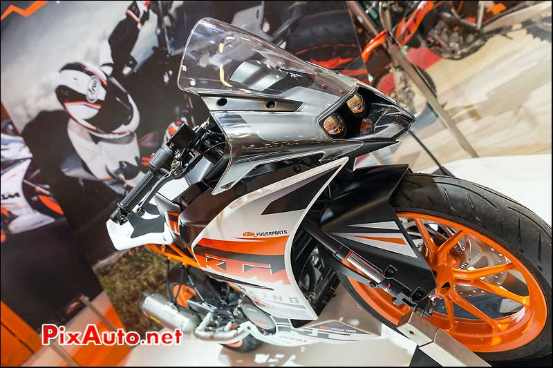 Nouveau KTM 390 RC Duke, salon-de-la-moto Paris