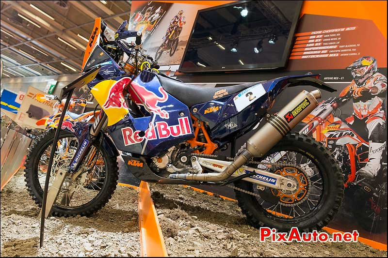 KTM 450 Rally MRW de Marc Coma, salon-de-la-moto Paris