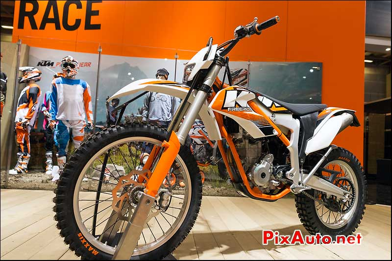 KTM Freeride 350cc, salon-de-la-moto Paris