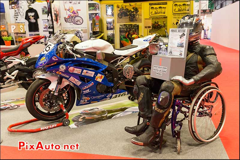 Stand Para Side Racing Team, salon-de-la-moto Paris