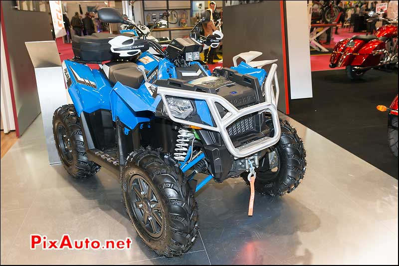 Quad Polaris Scrambler XP850, salon-de-la-moto Paris