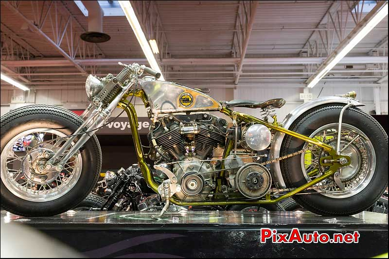Prepa Harley-Davidson Absolute-Cycles, salon-de-la-moto Paris
