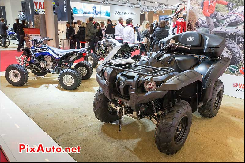 Quad Yamaha Grizzly 700WTHC, Salon-de-la-moto Paris 2013