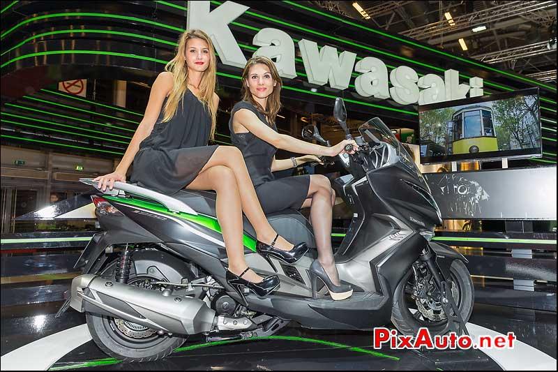 Salon de la moto scooter et du quad de kawasaki kymco - Salon de la moto 2014 ...