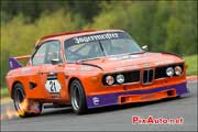 retour de flamme BMW 3.0L CSL, SPA-Classic 2013