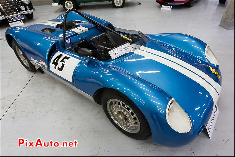 Davies Can-Am, expo vente Bonhams Spa-Classic 2013