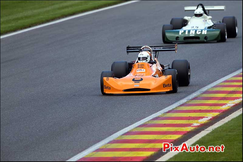 F2 March 73B, Terry CATON, Historic-Formula-2, Spa-Classic 2013