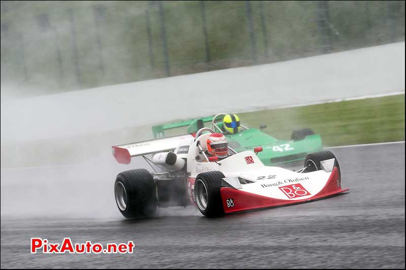 F2 March 742, Mark DWYER, Historic-Formula-2, Spa-Classic 2013