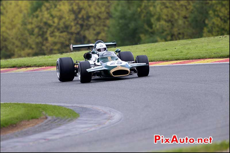 F2 Brabham BT35, Paul TATTERSALL, Historic-Formula-2, Spa-Classic 2013