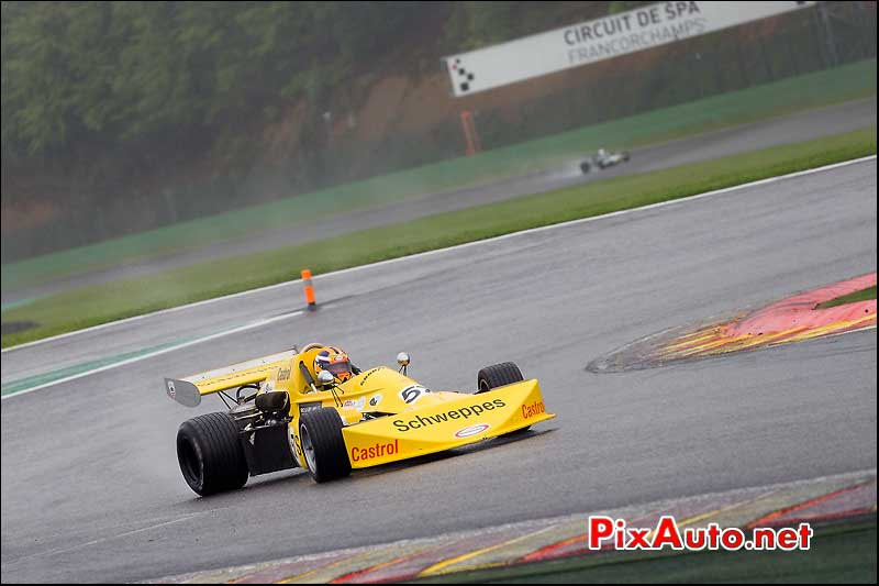 F2 March 75B, David WILD, Historic-Formula-2, Spa-Classic 2013