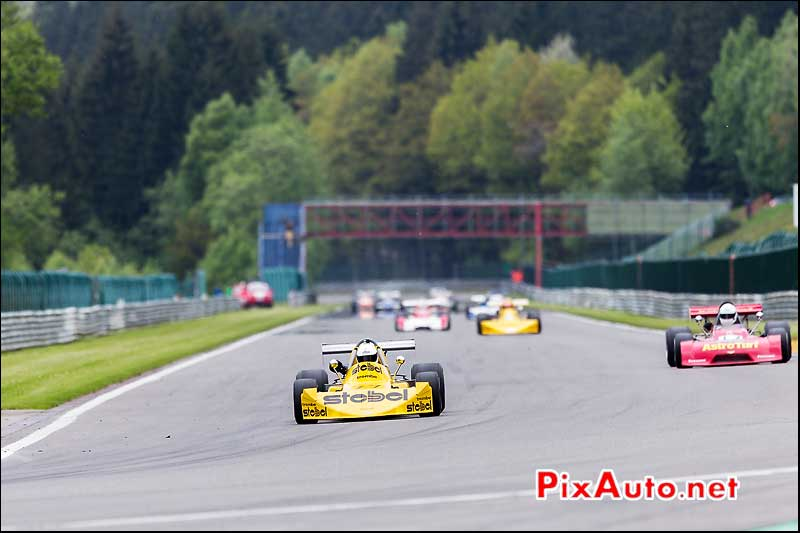 F2 March 742, Historic-Formula-2, Spa-Classic 2013