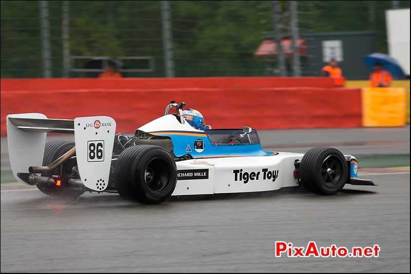 F2 March 782, Peter WILLIAMS, Historic-Formula-2, Spa-Classic 2013