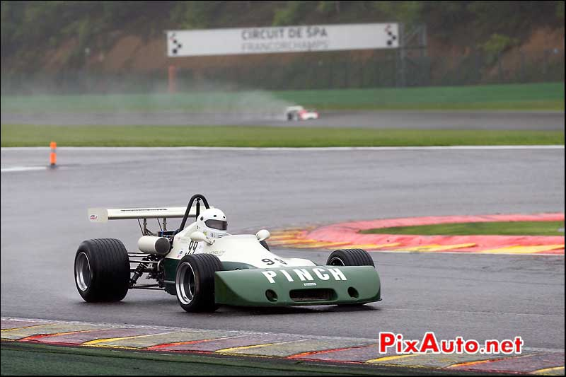 F2 Lyncar 005, Bob SELLIX, Historic-Formula-2, Spa-Classic 2013