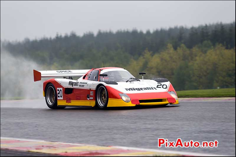 Spice SE90C, Group C Racing, Spa-Classic 2013