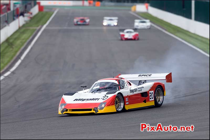 Spice SE90C, Group-C Racing, Spa-Classic 2013