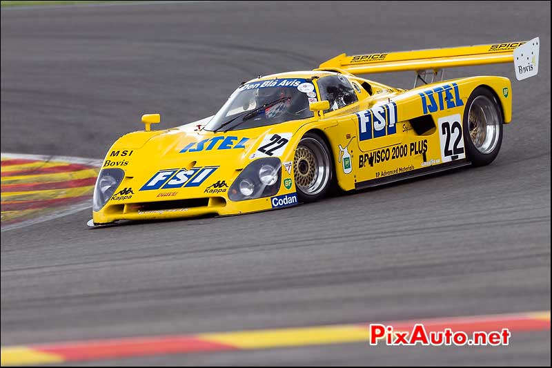 Spice SE89C, Group-C Racing, Spa-Classic 2013