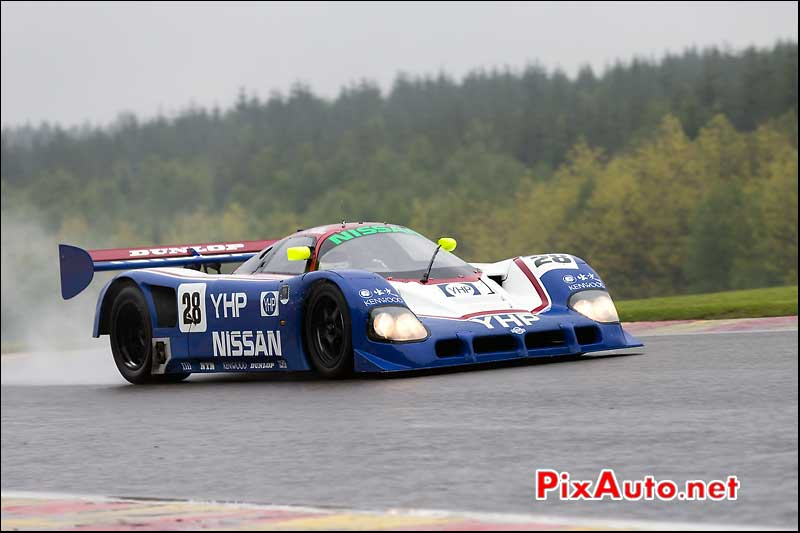Nissan R90CK, Kent Abrahamsson, Group-C Racing, Spa-Classic 2013