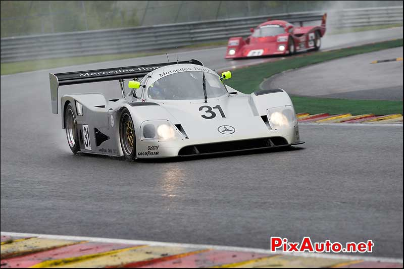 Mercedes-Benz C11, Group-C Racing, Spa-Classic 2013