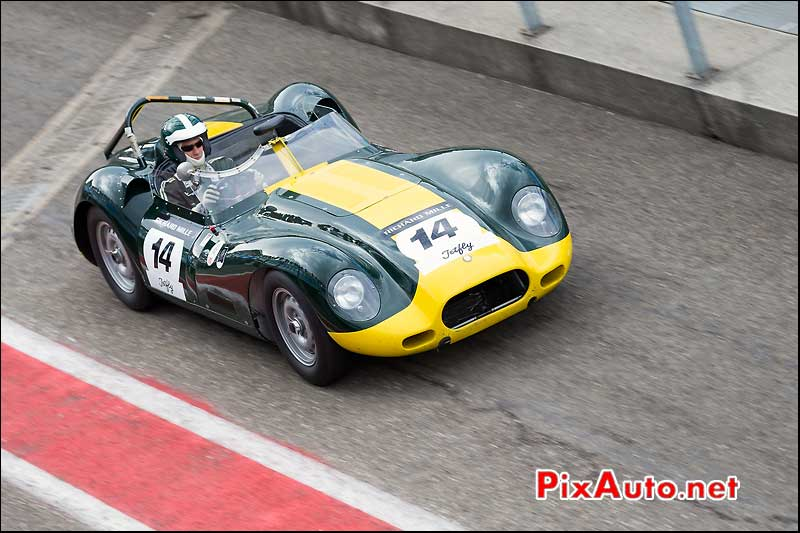 Lister Jaguar Knobbly, n14, Sixties Endurance Spa-Classic 2013