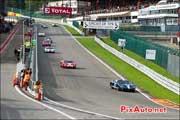 Ford GT40, ligne droite des stands historiques, SPA-Francorchamps