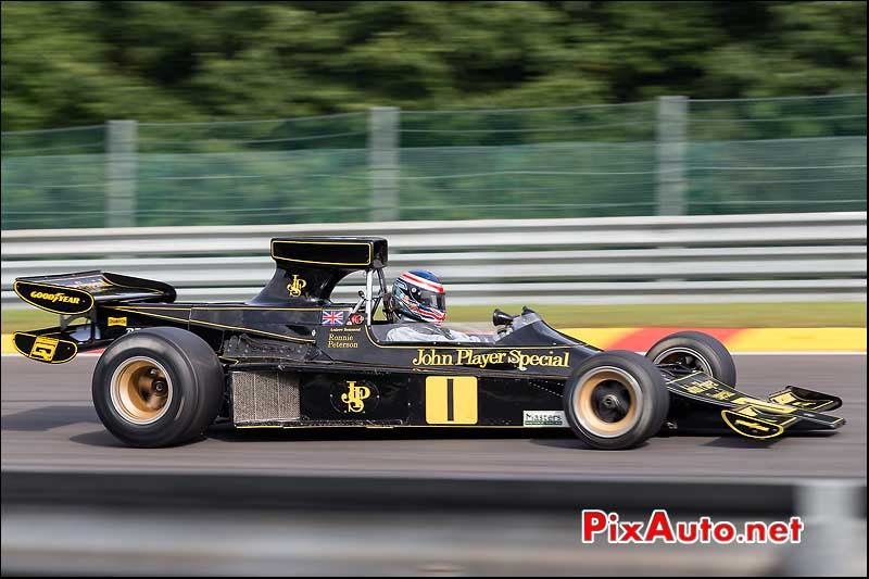 Formule1 Lotus 76/1, circuit Spa-Francorchamps