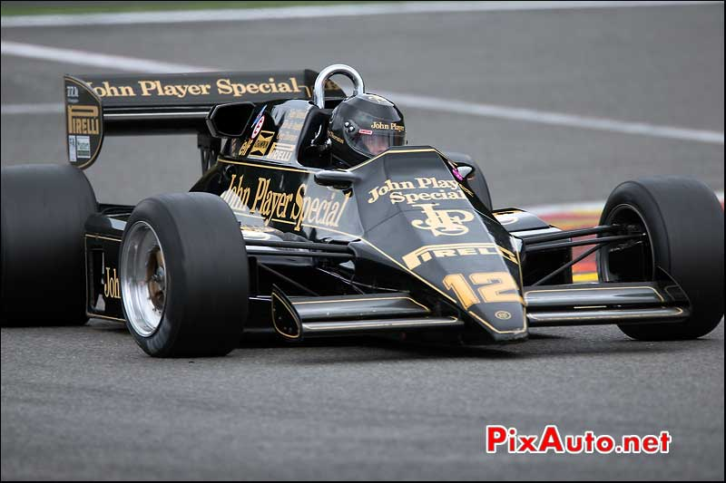 Formule1 Lotus 95/5, circuit Spa-Francorchamps