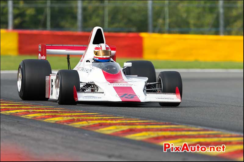 Formule1 Shadow DN1/3A, circuit Spa-Francorchamps