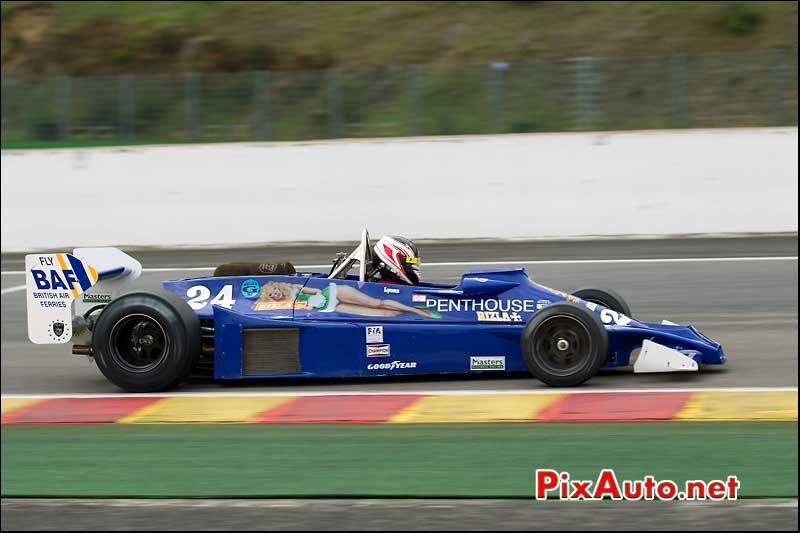 Formule1 Hesketh 308E, circuit Spa-Francorchamps
