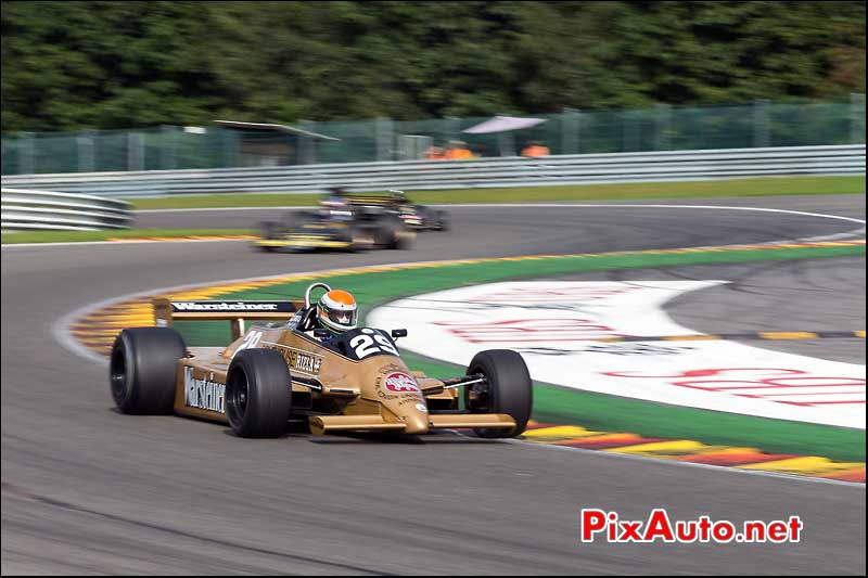 Formule1 Arrows A3-3, circuit Spa-Francorchamps