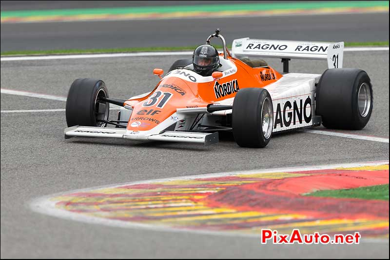 Formule1 Arrows A4, circuit Spa-Francorchamps